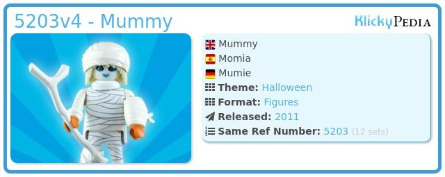 Playmobil 5203v4 - Mummy