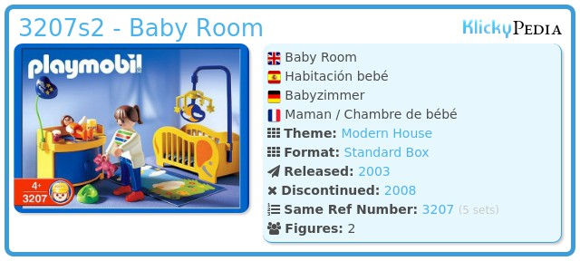 Playmobil 3207s2 - Baby Room