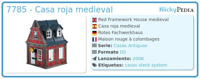 Playmobil 7785 - Casa roja