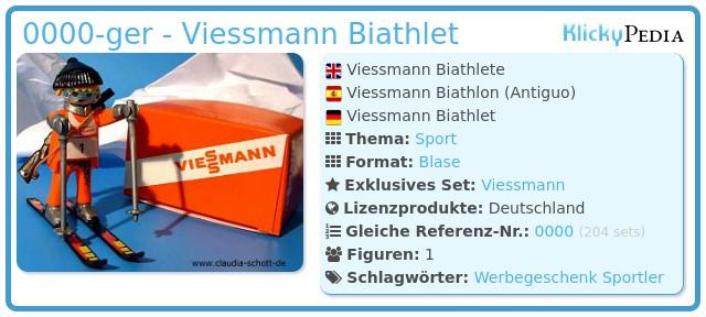 Playmobil 0000-ger - Viessmann Biathlet