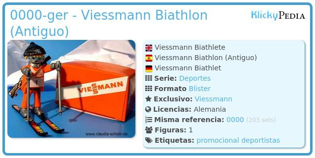 Playmobil 0000-ger - Viessmann Biathlon (Antiguo)