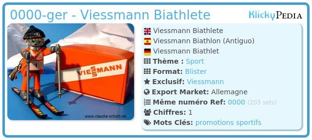 Playmobil 0000-ger - Viessmann Biathlete
