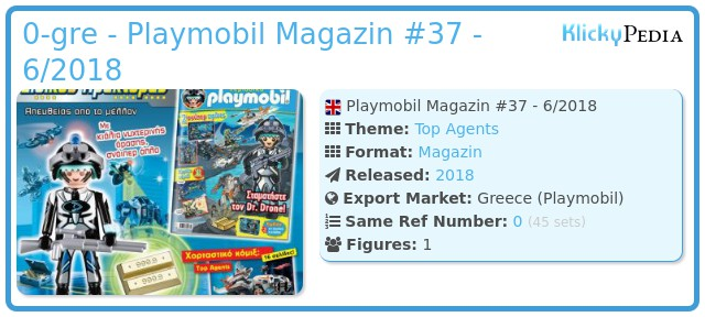 Playmobil 0-gre - Playmobil Magazin #37 - 6/2018