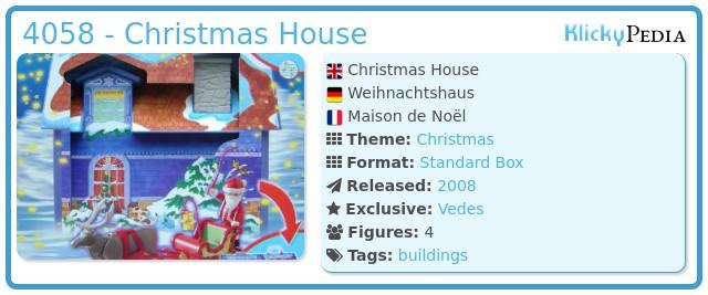 Playmobil 4058 - Christmas House