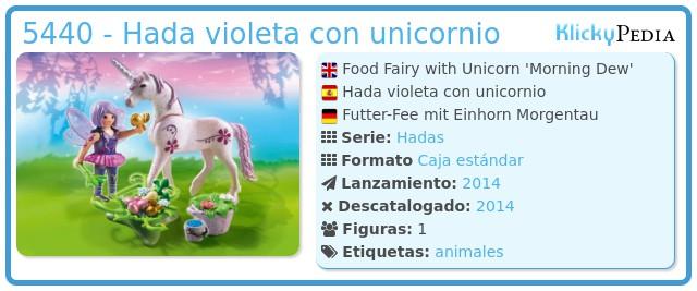 Playmobil 5440 - Hada violeta con unicornio
