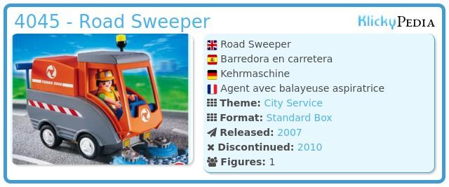 Playmobil 4045 - Kehrmaschine