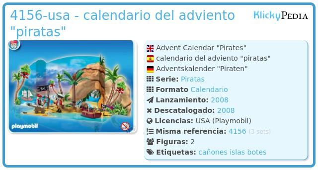 Playmobil 4156-usa - calendario del adviento