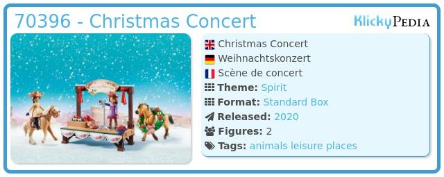 Playmobil 70396 - Christmas Concert