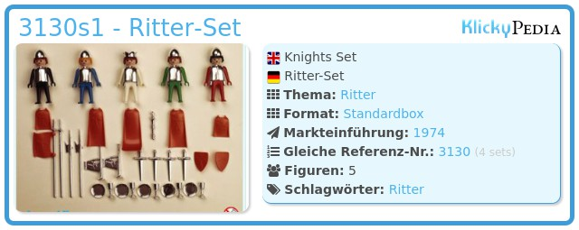 Playmobil 3130s1 - Ritter-Set