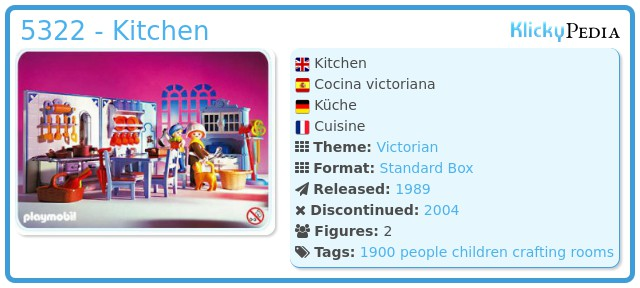 Playmobil 5322 - Kitchen