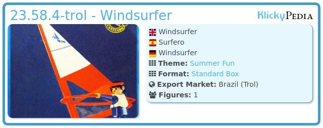 Playmobil 23.58.4-trol - Windsurfer