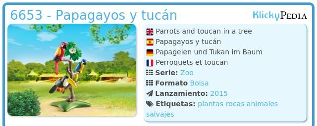 Playmobil 6653 - Papagayos y Tucan