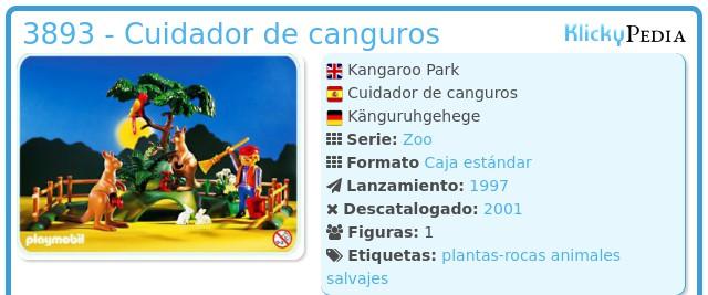 Playmobil 3893 - Cuidador de canguros