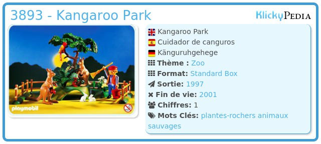 Playmobil 3893 - Kangaroo Park