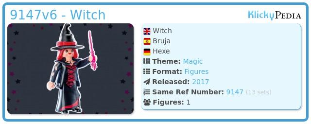 Playmobil 9147v6 - Witch