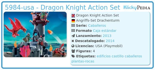 Playmobil 5984-usa - Dragon Knight Action Set