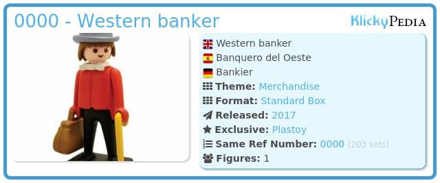 Playmobil 0000 - Western banker