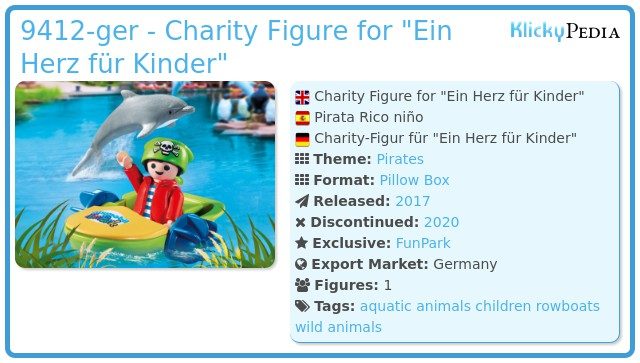Playmobil 9412-ger - Charity Figure for