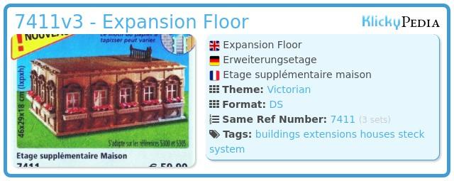 Playmobil 7411v3 - Expansion Floor