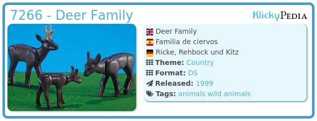 Playmobil 7266 - Deer Family