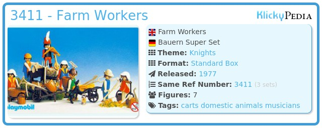 Playmobil 3411 - Farm Workers