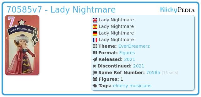 Playmobil 70585-07 - Lady Nightmare