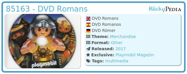 Playmobil 85163 - DVD Romans