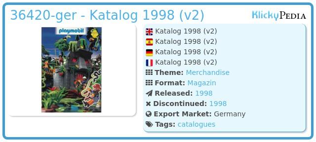 Playmobil 36420-ger - Katalog 1998 (v2)