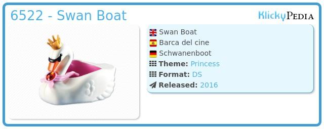 Playmobil 6522 - Swan Boat