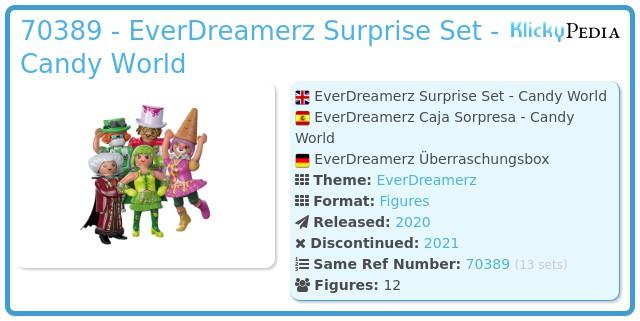 Playmobil 70389 - EverDreamerz Surprise Set