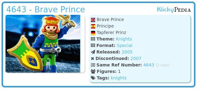 Playmobil 4643 - Brave Prince