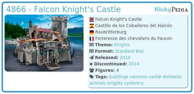 Playmobil 4866 - Falcon Knight's Castle