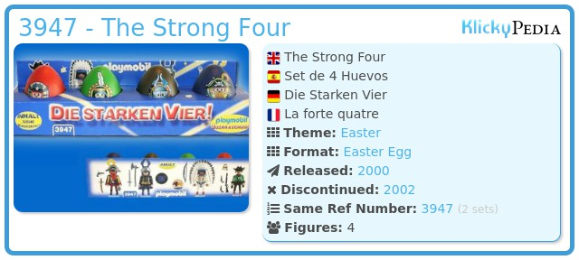 Playmobil 3947 - The Strong Four