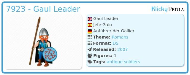 Playmobil 7923 - Gaul Leader