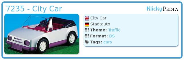 Playmobil 7235 - City Car