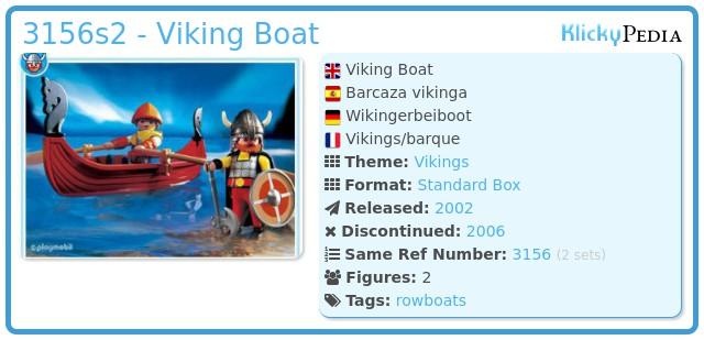 Playmobil 3156s2 - Viking Boat