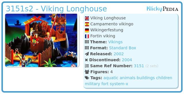 Playmobil 3151s2 - Viking Longhouse