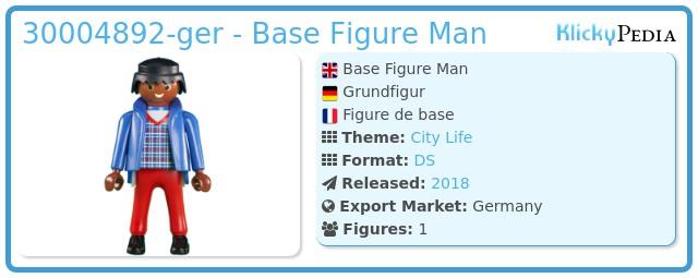 Playmobil 30004892-ger - Base Figure Man