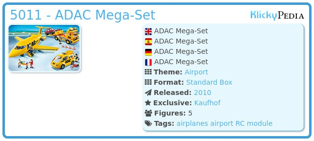 Playmobil 5011 - ADAC Mega-Set