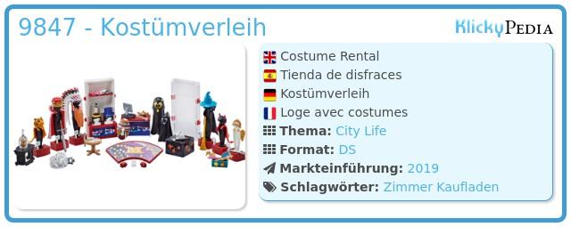 Playmobil 9847 - Kostümverleih
