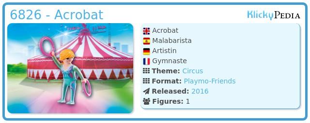Playmobil 6826 - Acrobat