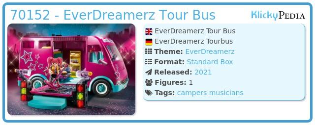 Playmobil 70152 - EverDreamerz Tour Bus
