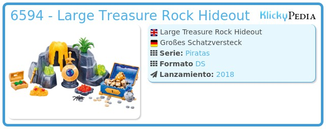 Playmobil 6594 - Large treasure hideout