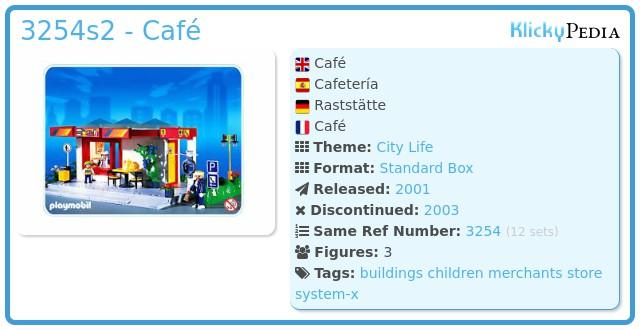 Playmobil 3254s2 - Café