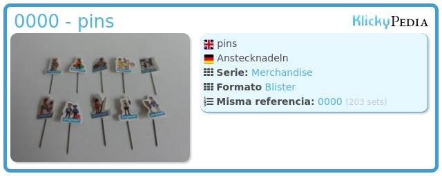 Playmobil 0000 - pins