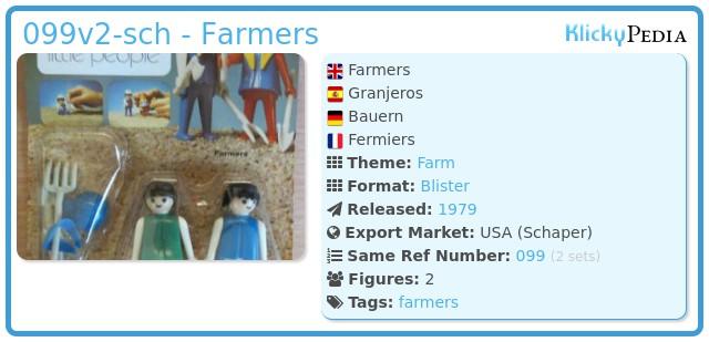 Playmobil 099v2-sch - Farmers
