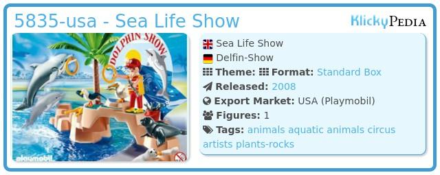 Playmobil 5835-usa - Sea Life Show