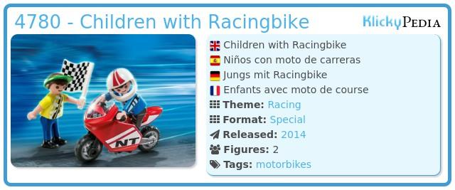 Playmobil 4780 - Children with Racingbike