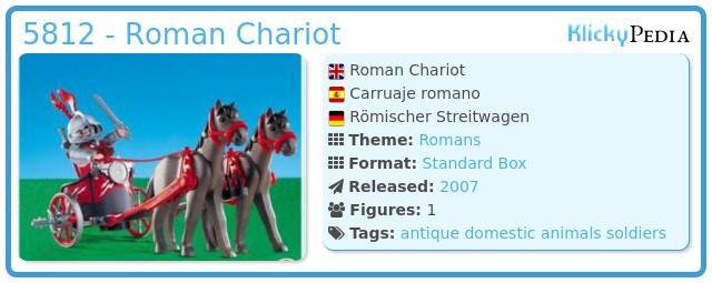 Playmobil 5812 - Roman Chariot