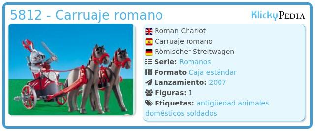 Playmobil 5812 - Carruaje romano